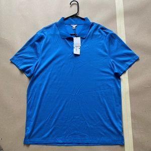 CALVIN KLEIN Liquid Cotton Polo Shirt